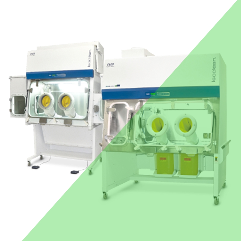 Disposable Containment Isolator Solo To Demonstrate Single